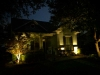 landscape lighting front of house