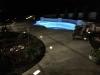 pool deck landscape lighting