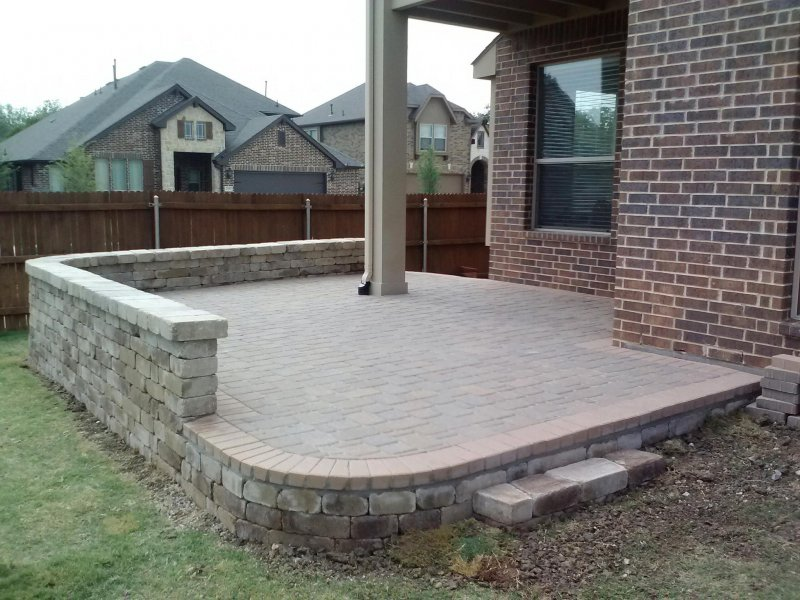 Pavers Before And After Legacy Custom Pavers