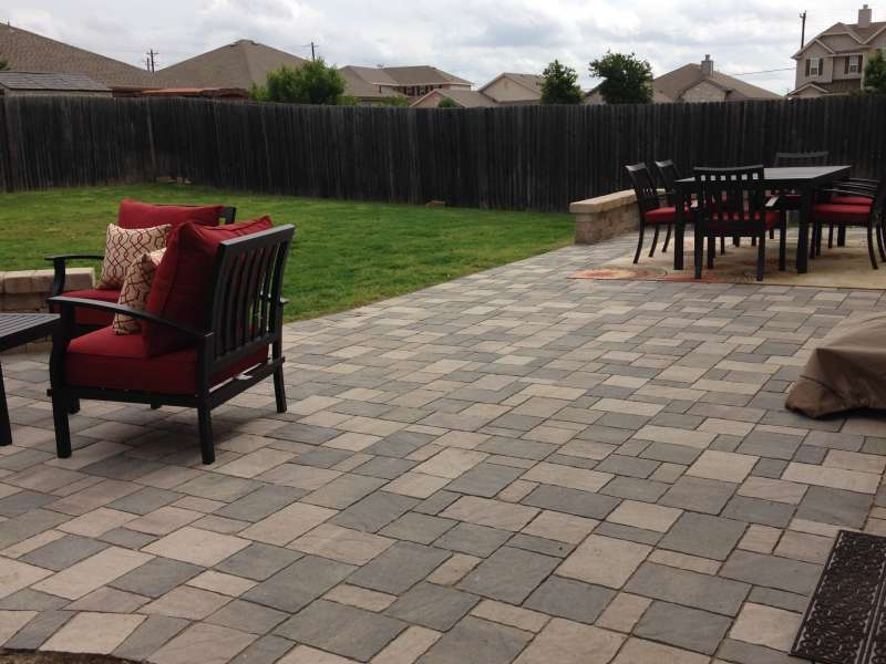 Patio Pavers Are Urbana Stone Mixed