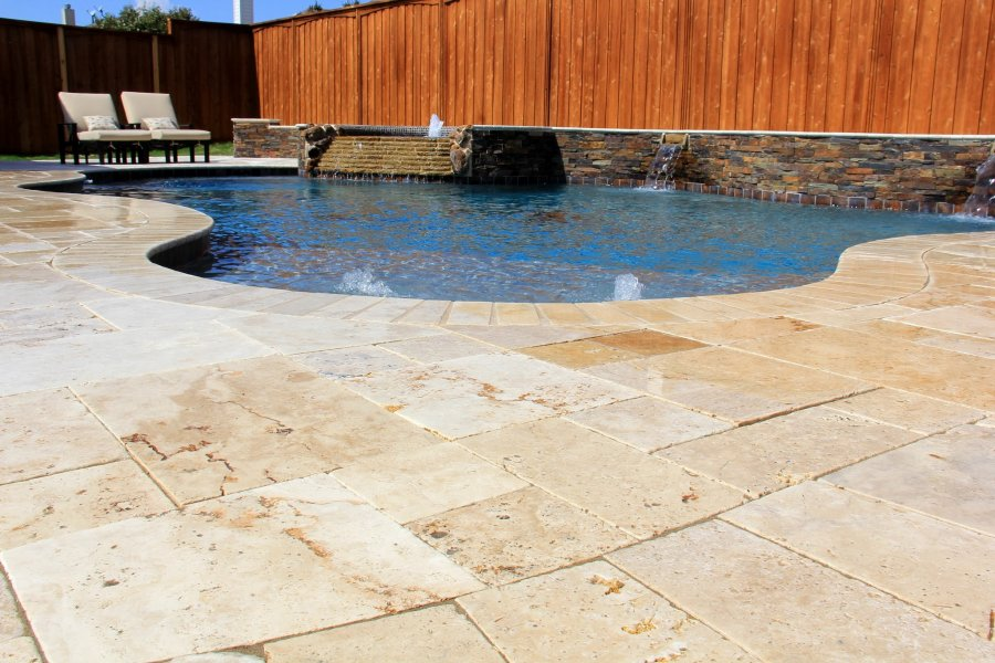 travertine-pavers-pool-deck