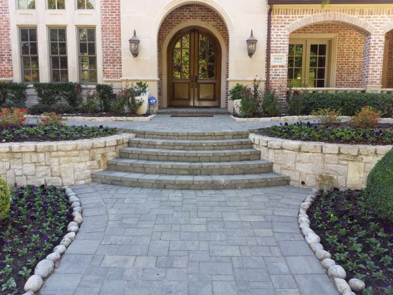 Best Pavers for Walkway Paver Walkway Installation Plano TX