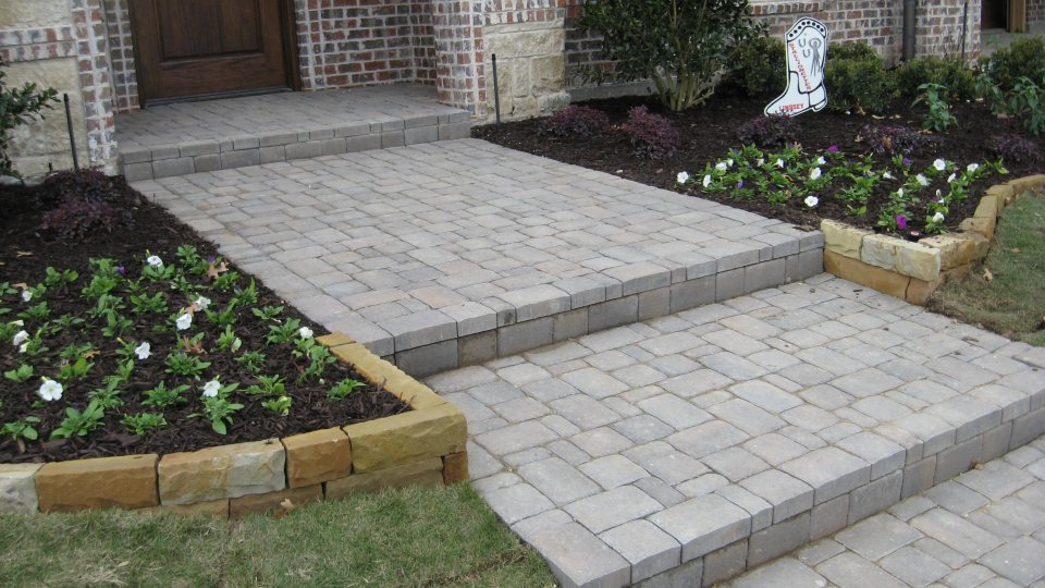 Best Pavers For Walkway Paver Walkway Installation Plano