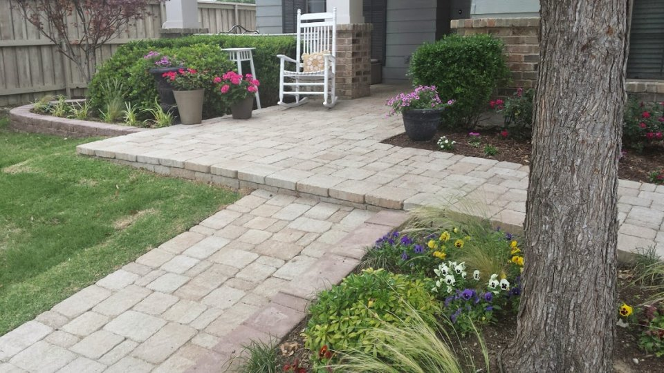 Front Patio Ideas Curb Appeal House