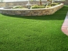 Synthetic grass garden