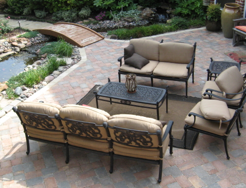 Benefits Of Patios Made From Concrete Pavers