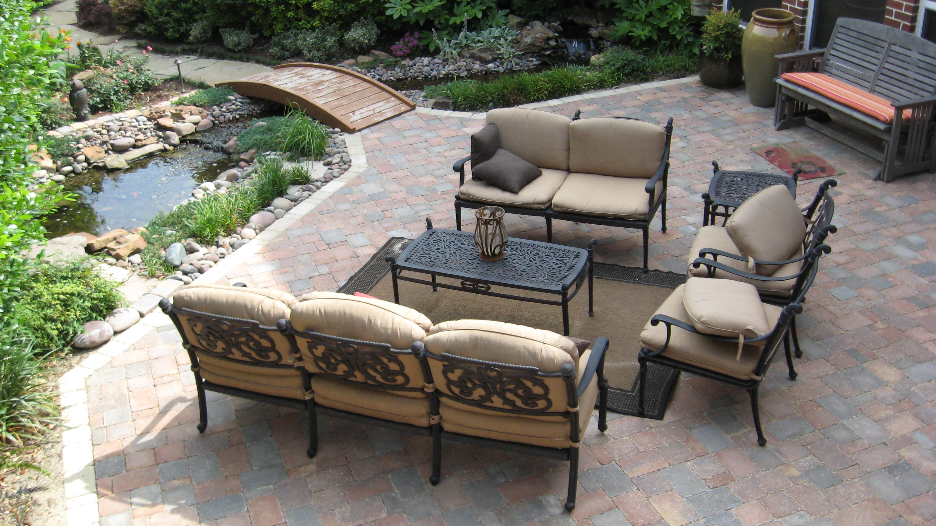Benefits Patios Made From Concrete Pavers Legacy Custom Pavers
