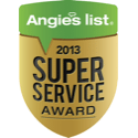 Legacy Custom Pavers located in Plano Texas recipient of the 2013 Angie's List Super Service Award