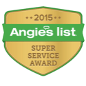 Legacy Custom Pavers located in Plano Texas recipient of the 2015 Angie's List Super Service Award