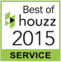 Legacy Custom Pavers located in Plano Texas is the proud recipient of the Best of houzz 2015 Award